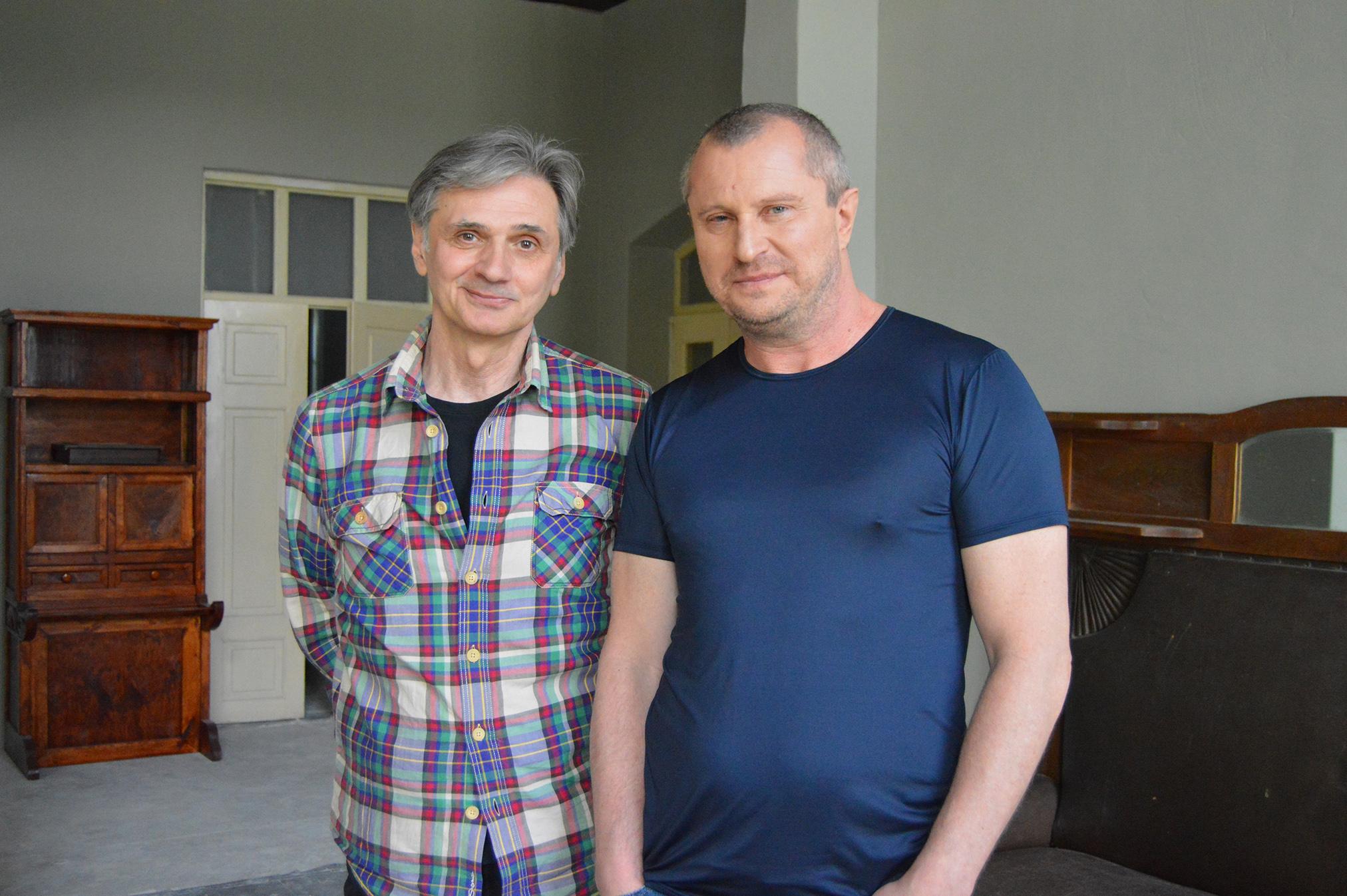 Stanislav Suknenko and Vadim Perelman.